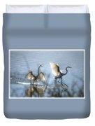 Water Ballet  Duvet Cover by Saija  Lehtonen