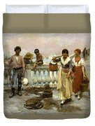 Water Carriers. Venice Duvet Cover