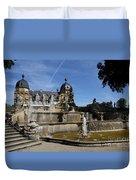 Water Cascade Palace Seehof Duvet Cover