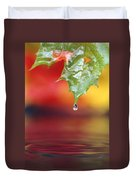 Water Dripping Duvet Cover