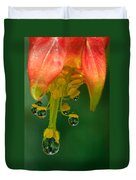 Water Droplets Duvet Cover