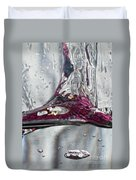 Water Drops Abstract3 Duvet Cover
