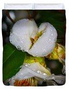 Water Drops Galore  Duvet Cover