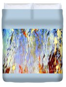 Water Fountain Abstract #30 Duvet Cover