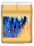 Water Fountain Abstract31 Duvet Cover