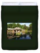 Water Garden Serenity Duvet Cover