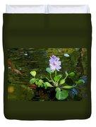 Water Hyacinth Float Duvet Cover