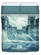 Water In The City Duvet Cover