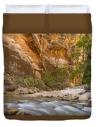 Water In The Narrows Duvet Cover
