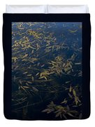 Water Leaves Duvet Cover