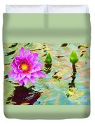Water Lilies 002 Duvet Cover