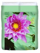 Water Lilies 003 Duvet Cover