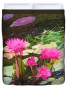 Water Lilies 009 Duvet Cover
