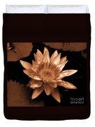 Water Lilies 012 Duvet Cover