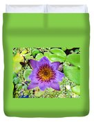 Water Lilies 12 Duvet Cover