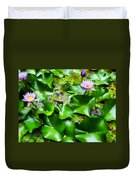 Water Lilies 31 Duvet Cover