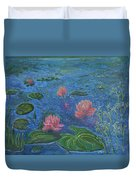 Water Lilies Lounge 2 Duvet Cover