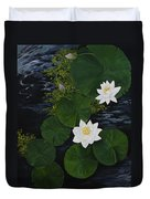 Water Lilies Duvet Cover