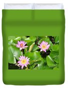 Water Lilies 3 Duvet Cover