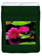 Water Lily 2014-12 Duvet Cover
