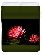 Water Lily 5 Duvet Cover by Julie Palencia