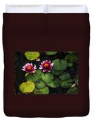 Water Lily Acanthius Duvet Cover