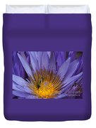 water lily from Madagascar Duvet Cover