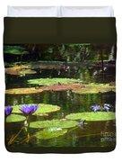 Water Lily Garden 2 Duvet Cover