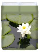 Water Lily I I Duvet Cover