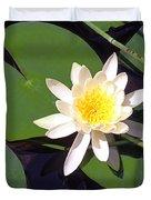Water Lily I I I Duvet Cover