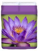 Water Lily Lindsey Woods Macro Duvet Cover