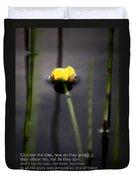 Water Lily  Luke  Duvet Cover