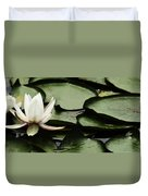 Water Lily Pad Duvet Cover