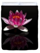 Water Lily Reflection Duvet Cover