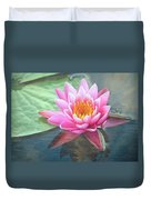 Water Lily Duvet Cover by Sandi OReilly