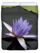 Water Lily Teri Dunn Duvet Cover