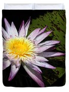 Water Lily With Lots Of Petals Duvet Cover