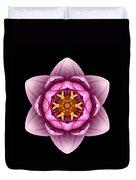 Water Lily X Flower Mandala Duvet Cover