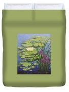 Water Lotus Duvet Cover