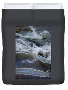 Water Mountain 1 By Jrr Duvet Cover