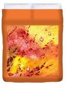 Water On Color Design Nine Duvet Cover