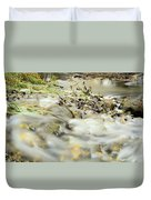 Water Over The Dike Duvet Cover