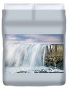 Water Over The Jetty Duvet Cover
