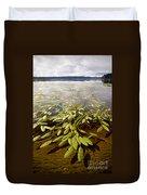 Water Plant Duvet Cover
