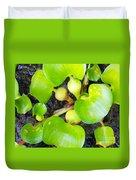 Water Plants 1 Duvet Cover