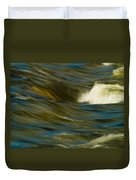 Water Play Duvet Cover by Bill Gallagher