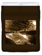 The Mighty Power Of The Falls Duvet Cover