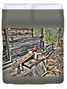 Water Pump In Nature Duvet Cover