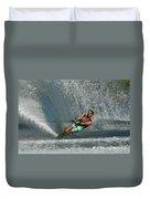 Water Skiing Magic Of Water 14 Duvet Cover