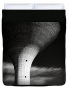 Water Tower Duvet Cover by Dave Bowman